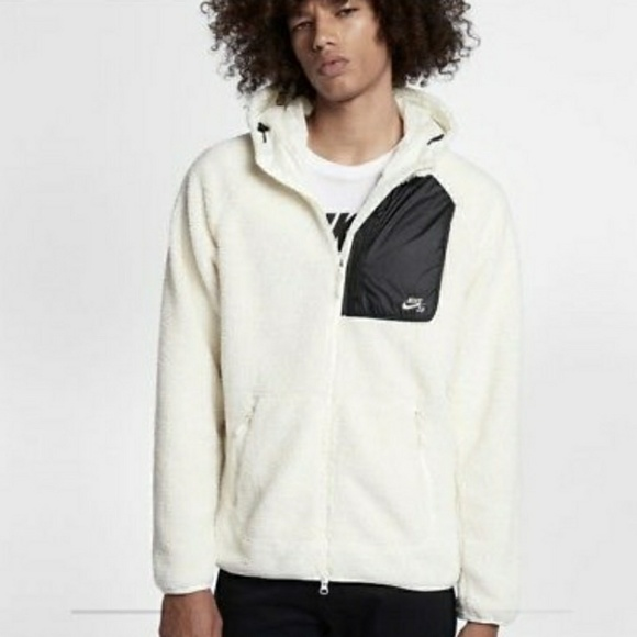 sneakers classic style exclusive deals Nike SB FZ Everett Sherpa hoodie
